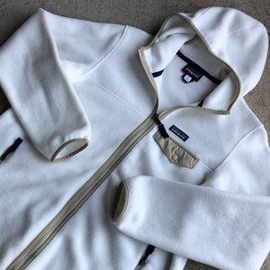Patagonia Snap T Large Zip White Hoody Jacket